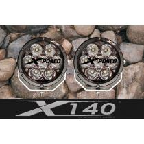 Xposed 140 Pair - 7 Inch